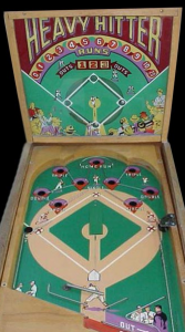 Heavy Hitter pinball game
