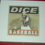 Dice Baseball Game Box
