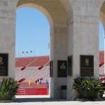 LA Coliseum Arches