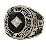 Detroit Tigers Championship Ring