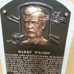 Harry Wright HOF plaque